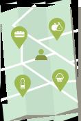 Etape 1 : ledej.fr vous permet de trouver un restaurant proche de chez vous